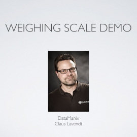 Weighing scale demo